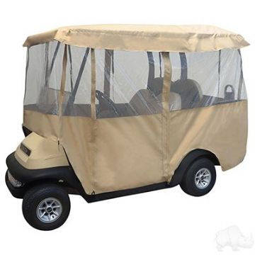 "Club Car, RHOX Enclosure, Car with 88"" Top"